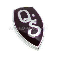 JDM Nissan 1995-1998 240SX Silvia S14 Purple Q'S QS Emblem Badge Genuine