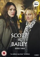 Scott And Bailey - Series 3 - Complete (DVD, 2013, 2-Disc Set) Used