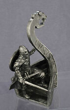 Viking armed with a sword on a ship. Vk-3. TIN TOY SOLDIER  Scale 54mm. 1:32