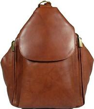 NEW GIRLS/LADIES VISCONTI BROWN SOFT LEATHER BACKPACK BAG