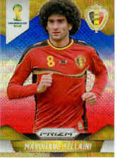 2014 World Cup Prizm Blue Red Wave Parallel Card No.22 M.Fellaini (Belgium)
