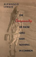 Studies in Continental Thought: The Community of Those Who Have Nothing in...