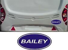 2 x OVAL BAILEY CARAVAN STICKERS DECALS GRAPHICS ANY COLOUR OR SIZE
