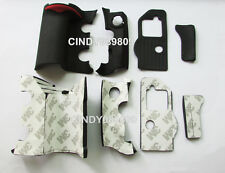 Original A Set 4 Pieces Grip Rubber Repair Part for Nikon D300S Camera with tape