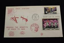 SPACE COVER 1974 MANNED SPACE STATIONS SKYLAB & SALYUT 1ST DAY ISSUE (1796)