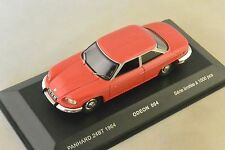 ODEON 004 - PANHARD 24 BT 1964 ROUGE  1/43