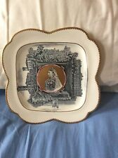 Queen Victoria 1887 Golden Jubilee Royal Residences Quadeloupe Deluxe Plate