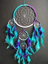 LARGE PINK BLUE PURPLE DREAMCATCHER MODERN STYLE VERY GOOD QUALITY DREAM CATCHER