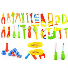 34 pcs Repair Tools Set Boy Kid Toys Craftsman Pretend Play Fixing Skill 2016