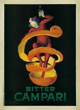 Bitter Campari by Leonetto Cappiello Vintage Bar Art Print Poster 38x51