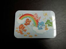 Vintage CARE BEARS Poker Playing Cards 2 Packs Collector Tin Case