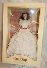 "Franklin Mint Gone With The Wind Scarlett O' Hara Portrait Doll 2000 16"" MIB"
