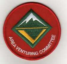 "Area Venturing Committee Position Patch, ""Scout Stuff"" Backing, Mint!"