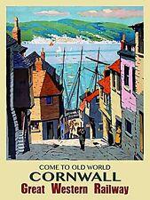 Old World Cornwall GWR fridge magnet   (og)