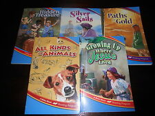Abeka Book Reading Program lot of 5 readers homeschool 2nd grade FREE SHIPPING