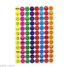 960 Children Smiley Face Reward Stickers Teacher Aid Potty Training Chart School