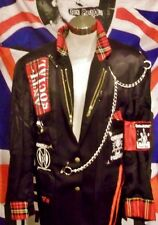 PUNK/SEDITIONARIES STYLE BESPOKE JACKET-40R.ANTI-SOCIAL 1.original 1-off