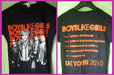 BOYS LIKE GIRLS - ladies TOUR T-SHIRT (M)  NEW & UNWORN