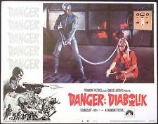 DIABOLIK - LOCANDINA CINEMA ORIGINALE - 1968 - PARAMOUNT PICTURES - 3
