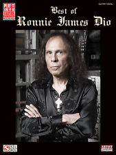 RONNIE JAMES DIO RAINBOW BLACK SABBATH GUITAR TAB SONG BOOK