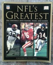 DK books NFL's Greatest US Edition SUPER RARE
