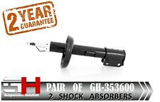 2 NEW FRONT GAS SHOCK ABSORBERS FOR OPEL / VAUXHALL VECTRA B /// GH 353600 ///