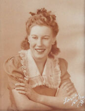 "ANTIQUE 1930'S CABINET PHOTO OF HELEN 5"" X 7"""