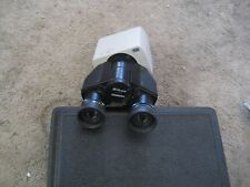 Nikon Microscope Binocular Head with CFW15 eye piece lens 15X  #- 141418