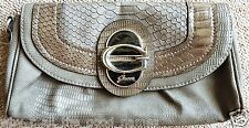 Womens Vintage Authentic GUESS Fashion Hand Held CLUTCH PURSE missing Strap