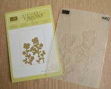 Retired Stampin Up WILDFLOWER MEADOW Embossing Folder NIP ~ Sizzix Big Shot