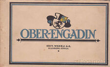 * SWITZERLAND - Ober- Engadin - Booklet with 12 Postcard (Ed.Wehrli A.G.)