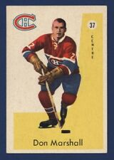 1959-60 Parkhurst DON MARSHALL #37 Exmt/Exmt+ Montreal CANADIENS !!