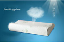 Hypoallergenic Memory Foam Good Sleep Heathly Pillow Bamboo Bed Comfort Travel