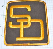 San Diego Padres MLB Baseball Large Vintage Iron-On Embroidered Uniform Patch