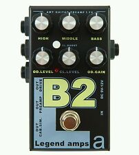 UK- AMT B2 legend guitar effects effect pedal amp simulator emulator distortion