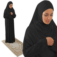 Amade MUSLIM WOMAN ISLAMIC PRAYER DRESS ABAYA HAJJ UMRAH Gift Set 4 Items