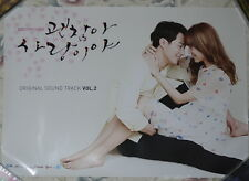 It's Okay That's Love POP OST Vol.2 Taiwan Promo Poster (Zo In Sung Cho-In Sung)