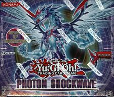 YUGIOH PHOTON SHOCKWAVE BOOSTER BOX BLOWOUT CARDS
