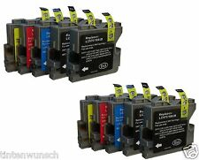 10 Ink Cartridges XXL For Brother LC970 DCP135C MFC235C MFC260c DCP150C
