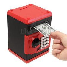 Piggy Bank Cash Coin Can Password Electronic Money Bank Safe Case Saving Safety