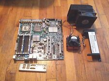 INTEL S5000VSA SERVER MOTHERBOARD with XEON 3.0GHz CPU, 4GB RAM, Fan, & Vent
