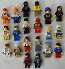10 NEW LEGO MINIFIG PEOPLE LOT random grab bag of minifigure guys city town set