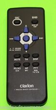CLARION RCB-176 wireless Remote Control CMD5 CMD6 CMD7 CX201 CX501 CX609 CZ100