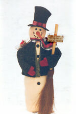 "# 1970 37"" Snowman doll pattern by Bonnie B Buttons"
