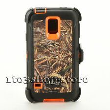 Otterbox Defender Samsung Galaxy S5/S 5 Rugged Case w/Holster Realtree Used
