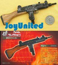 Furuta 1:6 Action Figure WORLD SUB MACHINE GUN UZI 9MM RIFLE MODEL Furuta_S3