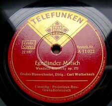 0538/CARL WOITSCHACH-Egerländer Marsch-Fridericus-Rex-Grenadier-Marsch-Schellack