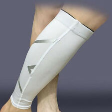 Pro Mens Leg Running Sleeves Compression Brace Calf Socks Basketball Protection