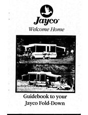 1997 Jayco J-1207 J-1406 J-1206 J-1006 Eagle Popup Trailer Owners Manual