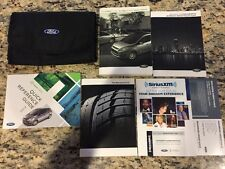 2013 Ford Cmax Owners Manual Set With Case OEM LQQK C-Max Hybrid Energi